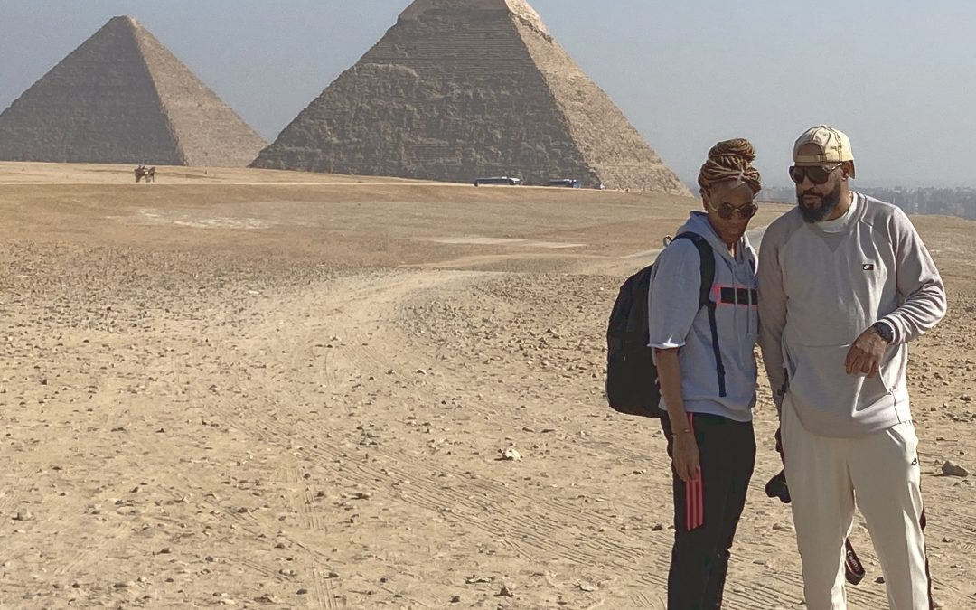 Exploring the Pyramids of Cairo