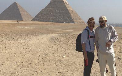 Exploring the Pyramids of Cairo