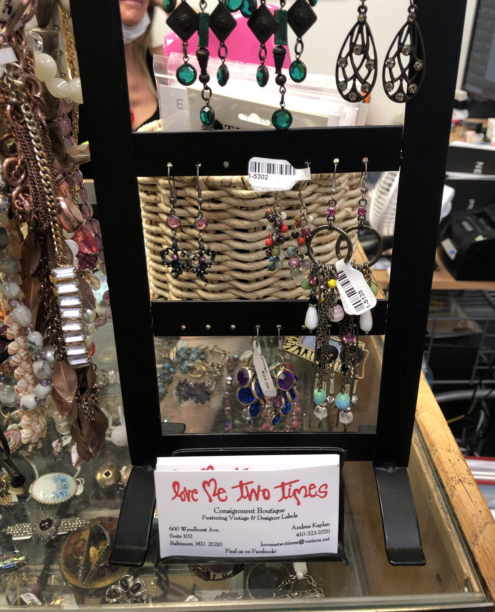 Love Me Two Times jewelry stand