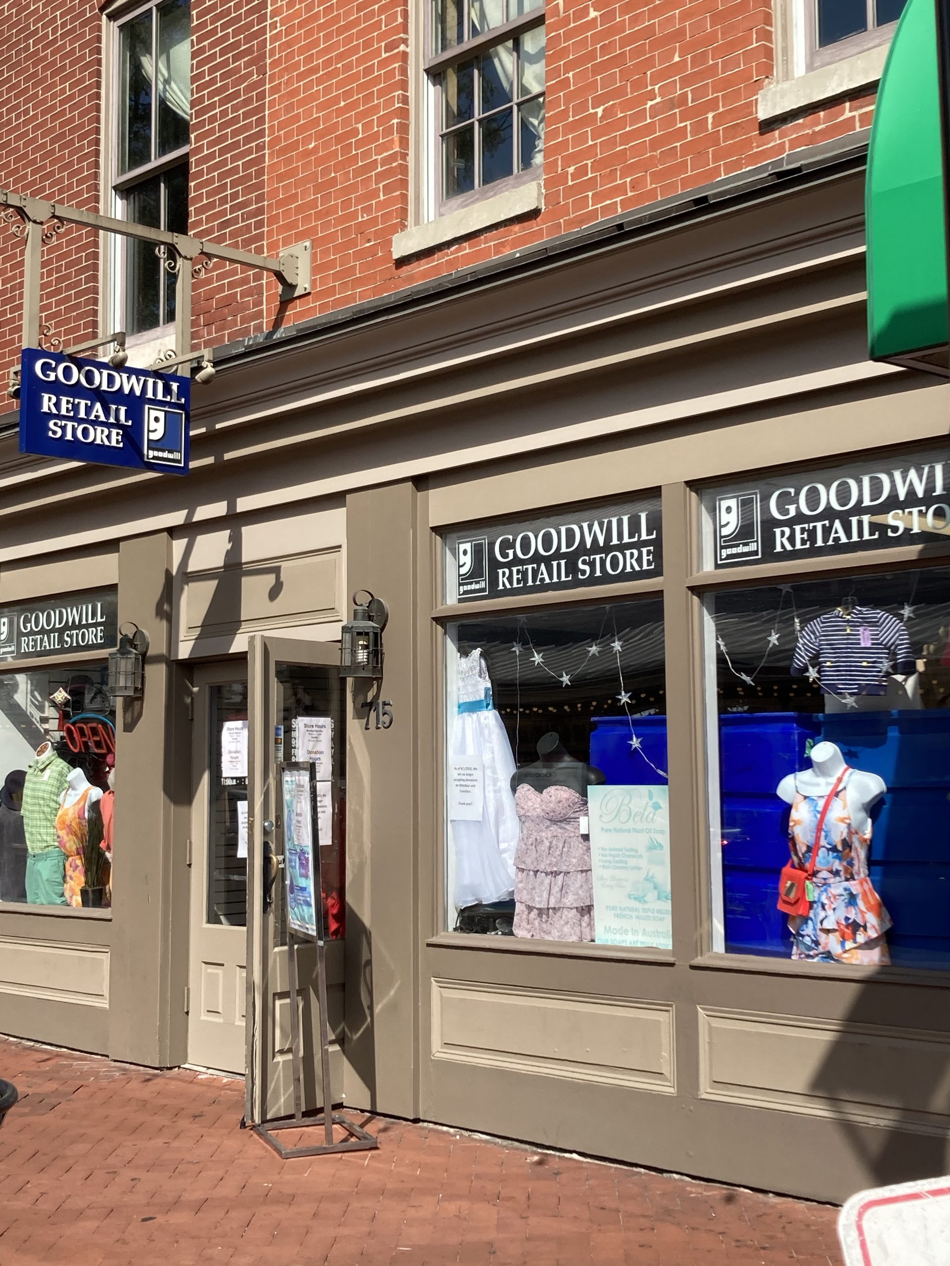Goodwill Store in Fells Point
