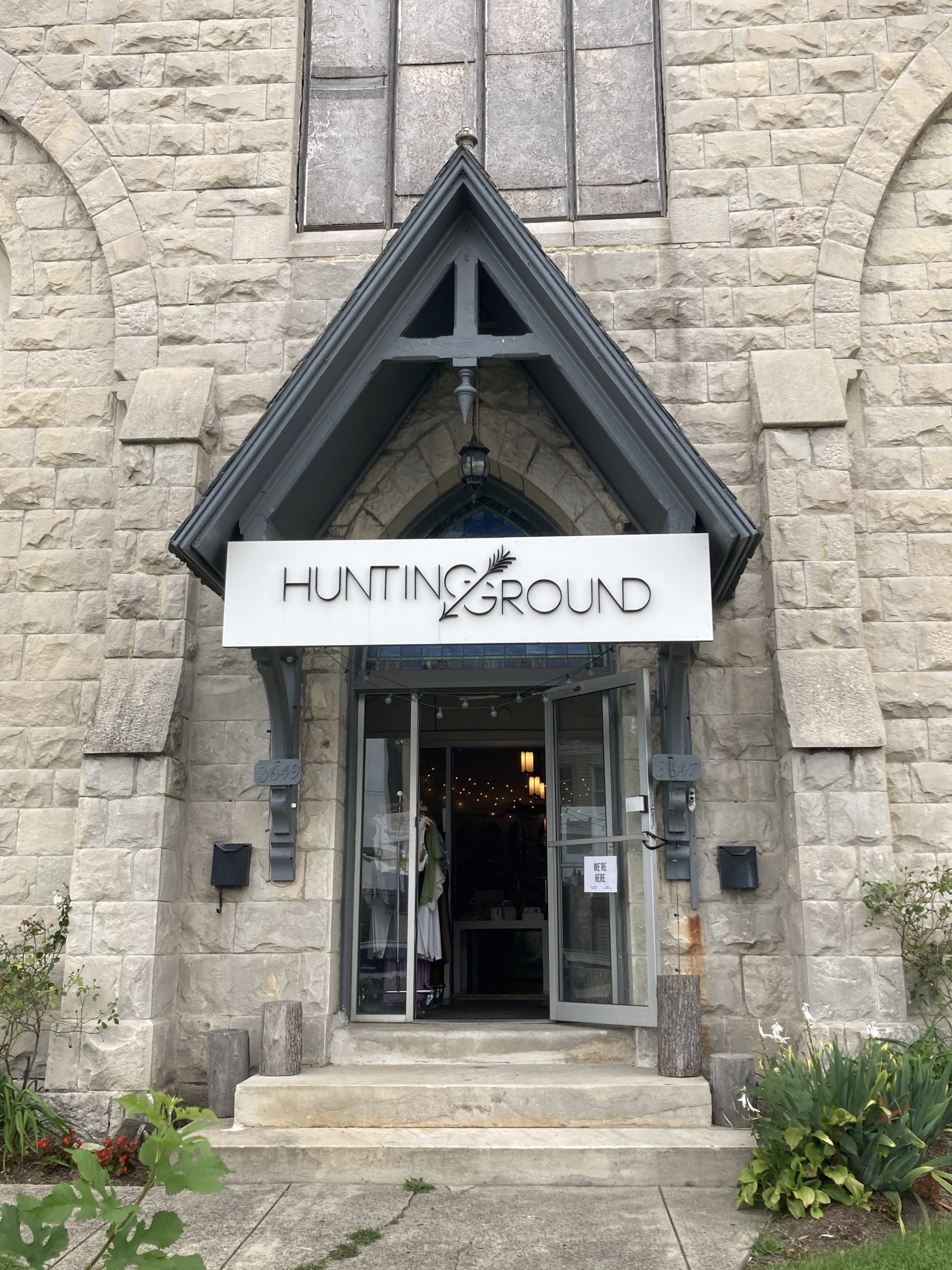 Hunting Ground entrance