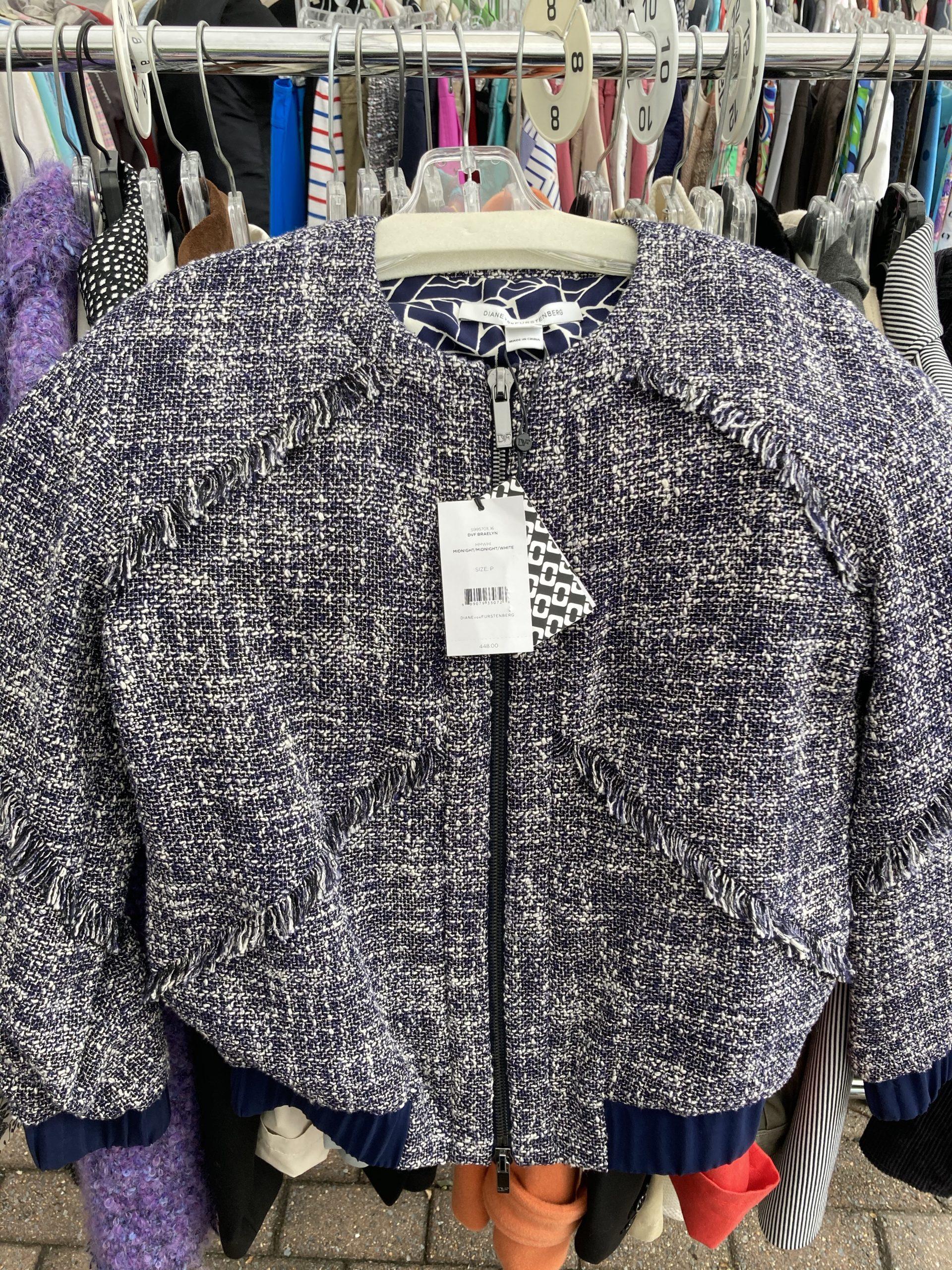 Diane von Furstenberg Tweed Jacket