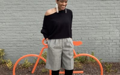 Styling Shorts in Winter